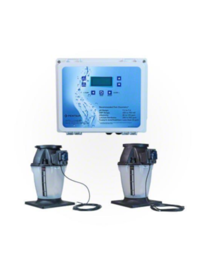 Pentair 522622 Intellichem Controller with Acid/Chlorine Tanks with Tank Mounted Pumps