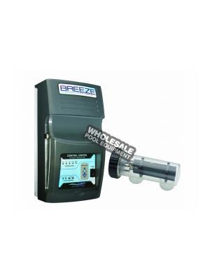Saline Generating Systems 1FINBRZ320 BREEZE 320 Salt Chlorine Generator, 20k Gallons