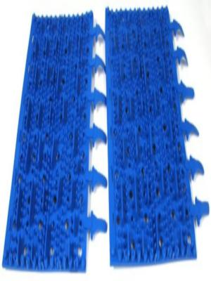 Aquaproducts A3002BPK Replacement Bristle Flap Pool Brush; 2/Pack