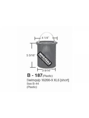 ALADDIN EQUIPMENT COMPANY SHORT PLASTIC BASKET