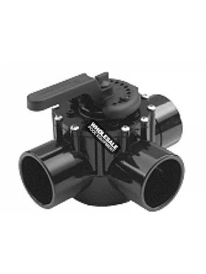 Pentair 263056 CPVC FullFloXF 3-Way Valve, 2.5-3""