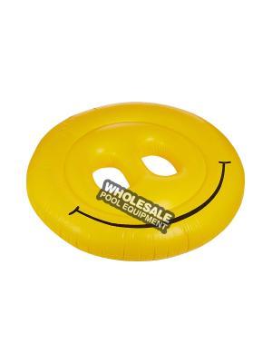 International Leisure 9053, Swimline Water Sports, Smiley Face Fun Island