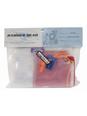 Hammerhead HH1502COMP Complete Coarse Debris Bag with Cleat; 300 microns; Purple