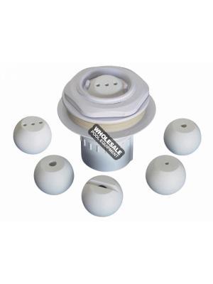 Pentair Deck Jet Water Effect Assy W/ Interchangeable Effect Eyeballs