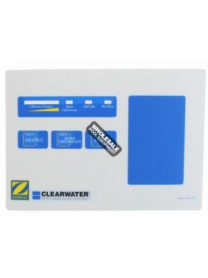 Zodiac W171911 Touchpad Label For LM2 Series Chlorinator Power Pack; Qty 1