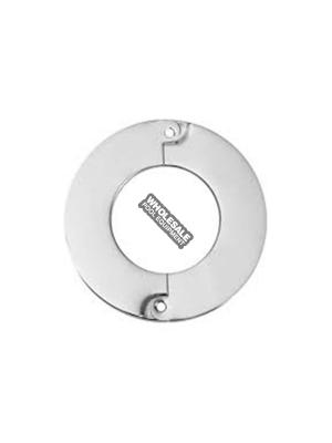 Mermaid Pool Equipment ESCUTCHEON Round Escutcheon; Stainless Steel