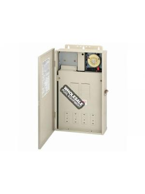 Intermatic Incorporated DUAL BOX 1-T104M W/125 AMP CTR
