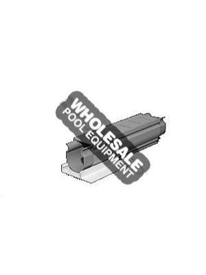 Cardinal Systems QP-6401G 2 Inch Square Paver Drain; 10 ft, PVC, Gray