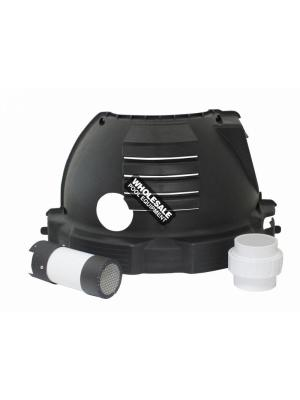 Pentair 475002 PVC Direct Air Intake Duct Kit For Sta-Rite(R) Max-E-Therm Heater; 3 Inch