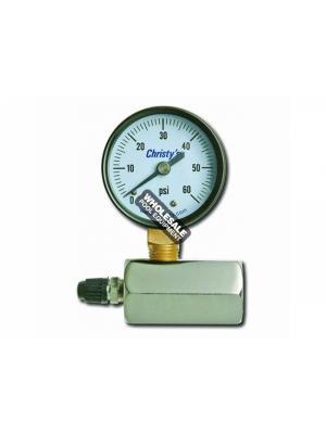 T CHRISTY ENTERPRISES INC 0-60 GAS TEST GAUGE