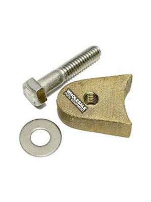 SR Smith A41494-0 Wedge Bolt and Washer Kit For Anchor Sockets; Bronze Wedge