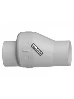 "Super-Pro SP0821-15 1.5"" PVC Check Valve W/ .5# Spring"