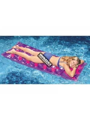 "International Leisure Products, 9035, Swimline Water Sports, Swimline(R) Inflatable Mattress, 76"" 18 Pocket French Mattress"