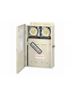 Intermatic Incorporated DUAL TIMER W/100 AMP CTR 240V