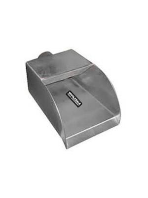 "8"" Radius Stainless Steel Scupper"