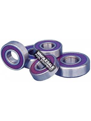 AST Bearings 62052RS Deep Groove Sealed Ball Bearing; 13 RPM, 52 mm x 15 mm, 52100 Chrome Steel