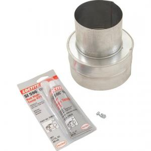 Pentair 77707-0076 Metal Flue Collar For Model 200 Max-E-Therm Sta-Rite(R) Pool and Spa Heater; 4 Inch x 6 Inch