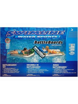 International Leisure Products, 90792, Swimline Water Sports, Swimline(R)Inflatable Multi-Player Squirters, BattleBoard Squirter Set