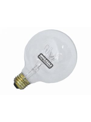 Halco 5508 400G/FL Decorative Incandescent Lamp; G30 Shape; Medium Base; 400 W; 120 V; Clear Lens