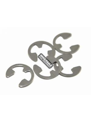 Zodiac 9-100-5107 E-Clip For Polaris 360/380/ATV/480 PRO; Vac-Sweep 380 Pool Cleaners; Stainless Steel; 5/Pack