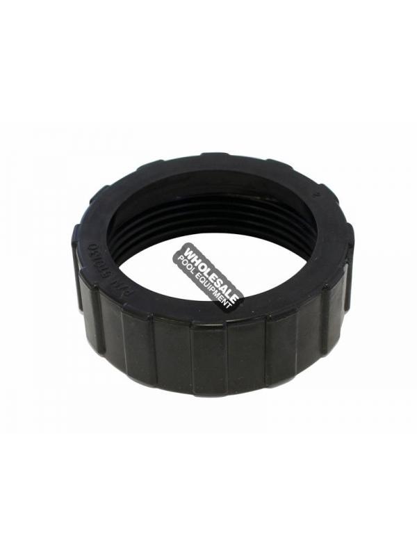 Pentair 51013011 Black Bulkhead Union Valve Nut For Push Pull Valves