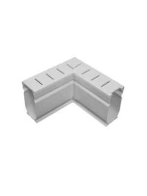 Stegmeier D9W Deck Drain 90 Degree; White