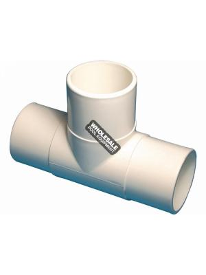 "Waterway Plastics  413-2210 2""SPG PVC TEE"