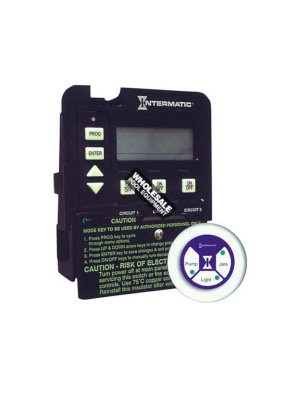 Intermatic Incorporated P1353ME Digital Pool/Spa Mechanism, 24 Hr, 120/240v, 3-Circuit