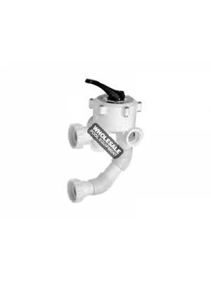 Pentair 50181212 Side Mount MultiPort Thread Valve, 1.5""