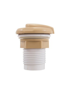 "CMP 25098-009-000 Spa Air Control 1"" Socket - Tan"