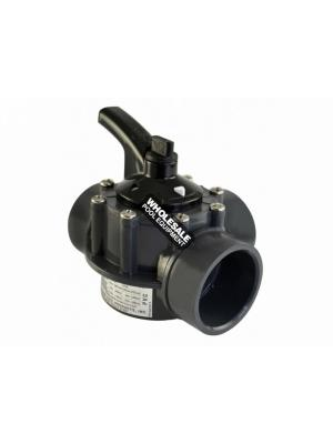"Hayward PSV3S2DGR PVC 3-Way PSV Diverter Valve 2""-2.5"""