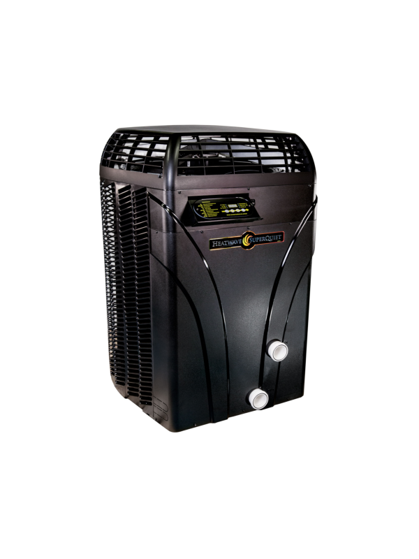 Aquacal SQ120ARDSBNN Autopilot HeatWave SuperQuiet Heat/ Cool Pump with Gas Defrost, 110k BTU