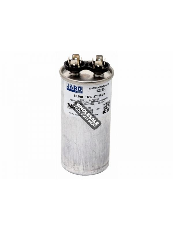Super-Pro; 12725 Run Capacitor; 50 MFD 370V Round