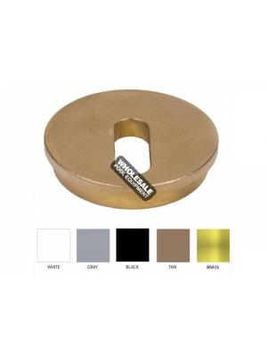 CUSTOM MOLDED PRODUCTS LLC 25597-000-220  ROUND DECK JET CAP Brass