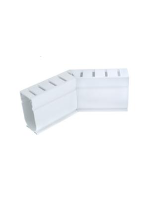 Stegmeier D4W Deck Drain 45 Degree; White