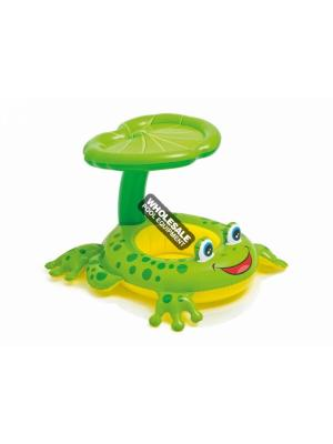 "INTEX RECREATION CORPORATION  56584EP Floats & Toys, Froggy Friend Shaded Baby Float; Product Size: 47"" x 31"", Age Grade : 1-2"