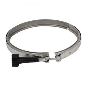 A & A 540146 Band Clamp For Low Profile Actuator Valve; Stainless Steel