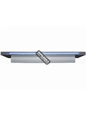 "CMP Brilliant Wonders LED Waterfall 12"" Sheer 6"" Lip, Grey W/ 100' Cord"