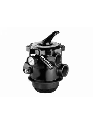 Pentair Tagelus(R) 263085 ABS Clamp Style Backwash MultiPort Valve without Union; 2 Inch; 6 Inch Neck