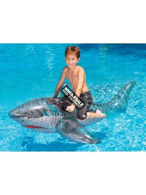 """INTERNATIONAL LEISURE 72"""" INFLATABLE SHARK"""