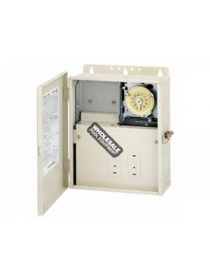 Intermatic T10004R 30A Power Center with T104M Mechanism