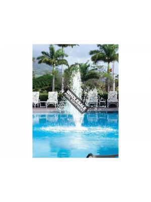 INTERNATIONAL LEISURE 8597 TRIPLE TIER FOUNTAIN GRECIAN