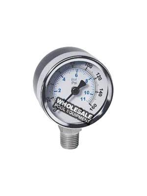 Winters Instruments E194 Brass Gauge Bottom Mount For 2 Inch Dial Pressure Gauge; 1/4 Inch