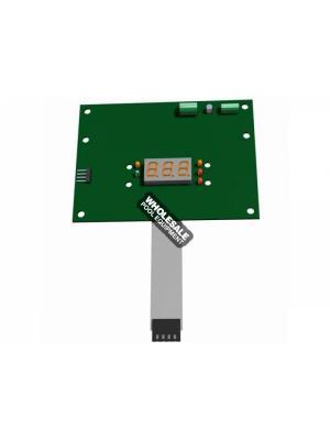Hayward IDXL2DB1930 Display Board For ASME; H-Series Low NOx Induced Draft; Universal H-Series Low NOx Heaters and H250IDL2/H350IDL2/H400IDL2/H150FD/H200FD/H250FD/H300FD/H350FD/H400FD/H500FD Pool and Spa/Hot Tub Heaters