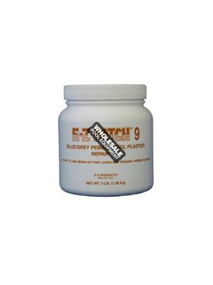 E-Z Products, EZP-167 E-Z Patch 9 Pebble Plaster Repair; 3 lb, Blue/Gray