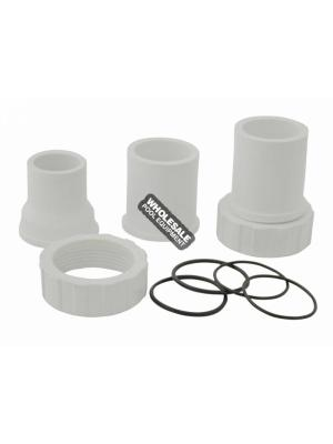 Pentair 50901100 Bulkhead Union Replacement Kit For Olympian Side Mount and Sandpiper 18 Inch and 24 Inch Stainless Steel Sand Filter; Titan Vertical Grid D.E. Filter