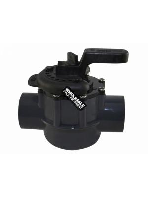 Pentair 263038 PVC 2-Way Valve, 1.5-2""