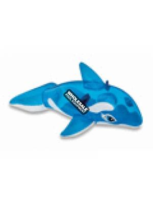 Intex Recreation Corporation, 58523EP, Floats & Toys, Pool Toys, Lil' Whale Ride On, Ages 3+