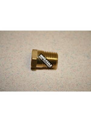 Zodiac P0026800 Brass Drain Plug For Lite2(TM) LD; LG Heaters; 1/4 Inch