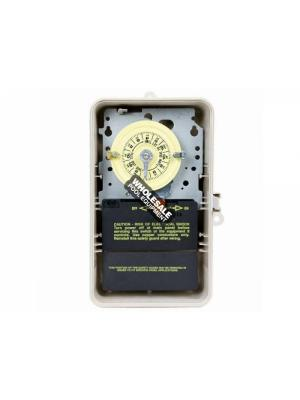 Intermatic Incorporated T101P3 110v Timer Indoor/Outdoor, Plastic Case